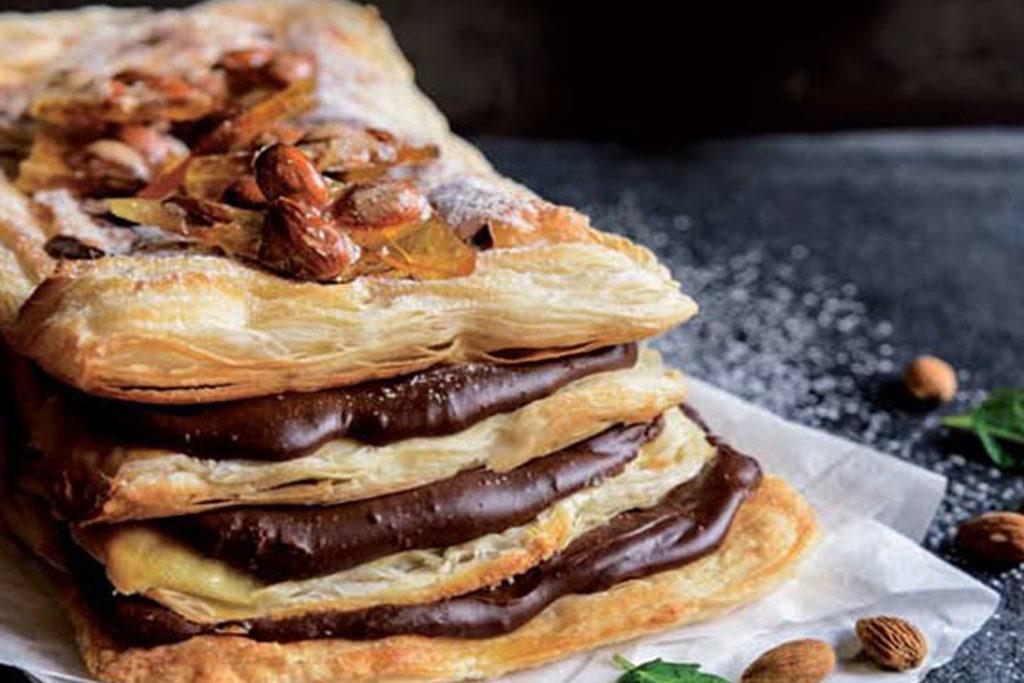 chocolate millefeuille recipe